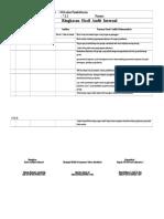 4.Log Status Hasil Audit