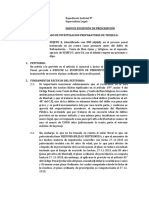 Modelo de Excepcion de Prescripcion Accion Penal