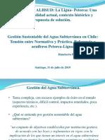 Gestión Sustentable del Agua Subterránea en Chile