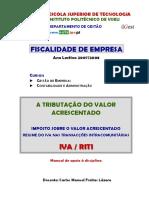 Fiscalidade da Empresa 00001