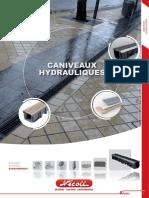 Caniveaux hydrauliques