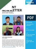Student Newsletter Issue 2