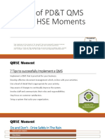 Qms Hse Moments