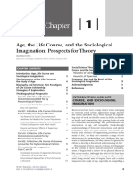 Chapter 1 Age the Life Course and the Sociol 2011 Handbook of Aging and