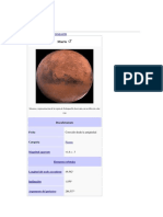 Marte planet