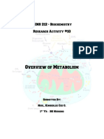 Overview of Metabolism