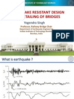 Earthquake design of Bridges