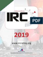 Irc Rule 2019