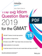 Question Bank for GMAT 2019