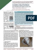 Enrichment of Omega 3 Fatty Acids using Urea Complexation Method to Enhance the Nutritive Value of Stingray Fish Dasyatis Sephen F. Liver Oil