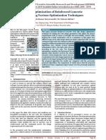 Design Optimization of Reinforced Concrete Slabs Using Various Optimization Techniques