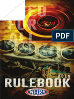 2019 NHRA Rulebook