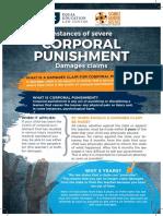 Instances of Severe Corporal Punishment Damages Claim (2017)
