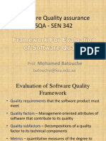 Evaluating Software Quality