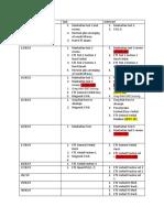 GRE Progress Sheet