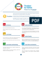 Tourism for SDGS as a Traveller