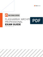 Flasharray Architect Professional Exam Guide