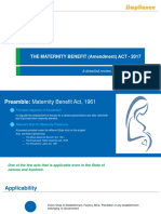 The Maternity Benefit Act 2017_A Reveiw Note