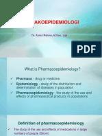1. Farmakoepidemiologi UMM 2019