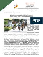 Comunicato Stampa 05 24-08-19_2 Giorni Vertova_Trainini Vince La Prima Prova