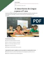 Prova Brasil Descritores de Lingua Portuguesa Para o 5 Anopdf
