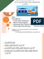 Sarana Sanitasi Pelabuhan Laut - 4d4 - Kel 1