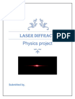 Physics LASER DIFFRACTION