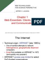 Web technologies Chapter 1
