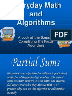 everydaymath algorithms ppt