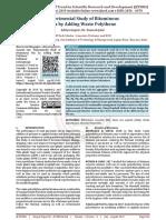 Experimental Study of Bituminous Mix by Adding Waste Polythene