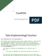 FreeRTOS - Tasks