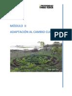 Modulo II Adaptacion Cambio Climatico