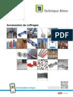 Technique Beton Accessoires de Coffrages 2018