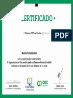 A Importância Da Psicomotricidade No Desenvolvimento Infantil-Certificado 429987