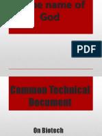 CTD-on-Biotech