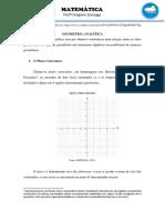 Geometria Analítica - Profº Gregorio Gonzagaa