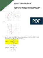 Seguimiento 1 - Calculo Diferencial