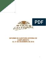 Informe de Auditoria Interna de Cumplimiento