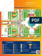 2019 NFL Kickoff Experience Map