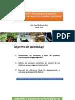 Clase 5 Unidad II. Farmacognosia General y Extractos de Plantas.pptx