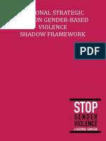 National Strategic Plan on Gender-Based Violence Shadow Framework (2017)