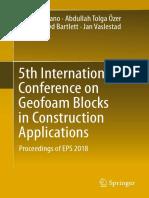5th International Conference on Geofoam