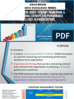 Value-based Business Excellence Model