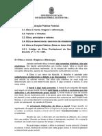 2.3. Conhecimentos Gerais - Ética Na Administração Pública Federal