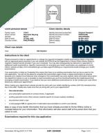 E Medical Referral Letter