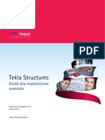 Tekla Advanced Modeling Guide 210 Ita