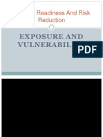 Exposure and Vulnerability