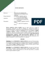 Demanda de Interdicción Edilberto