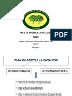 Ppt Plan de Apoyo 2019