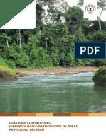 Guía metodológica monitoreo de aguas